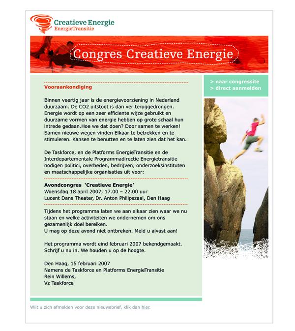 Creatieve energie, de energietransitie