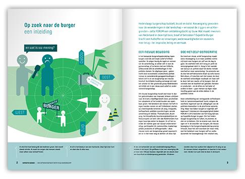 Voorbeeld ontwerp beeldend rapport Expeditie Burger
